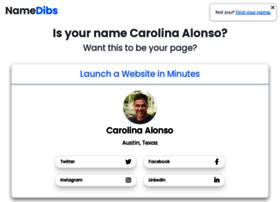 carolinaalonso.com