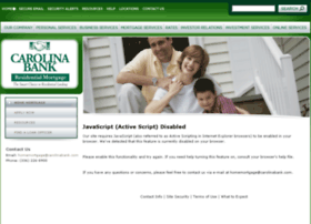 carolinabank1.mortgagewebcenter.com