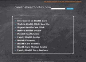 carolinahealthnotes.com