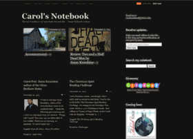 carolsnotebook.wordpress.com