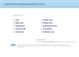 carownersmanualonline.com