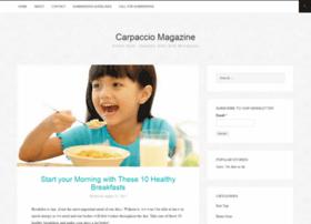 carpacciomagazine.com