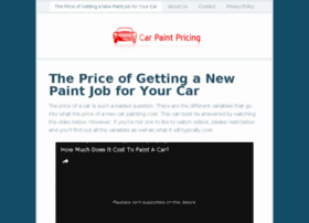carpaintpricing.com