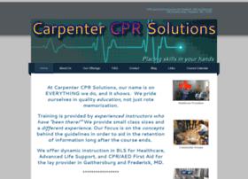 carpentercprsolutions.com