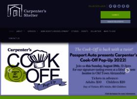 carpentersshelter.org