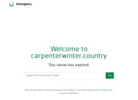 carpenterwinter.country