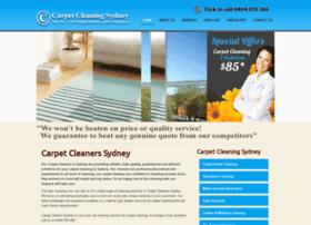 carpetcleanersydney.com