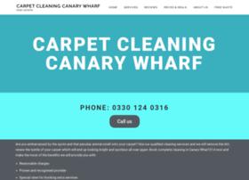 carpetcleaningcanarywharf.co.uk