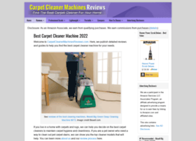 carpetcleaningmachinesreviews.com