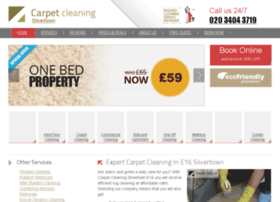 carpetcleaningsilvertown.co.uk