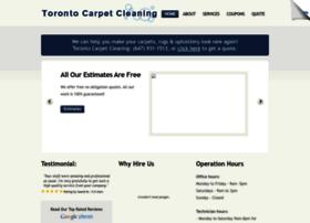 carpetcleaningtoronto911.com