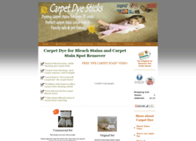 carpetdyesticks.com