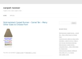 carpetrunner.org