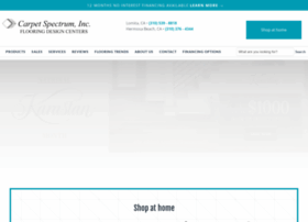 carpetspectruminc.com