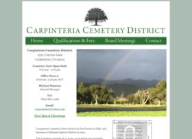 carpinteriacemetery.com