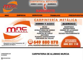carpinteriadealuminiomurcia.es