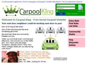 carpoolking.com