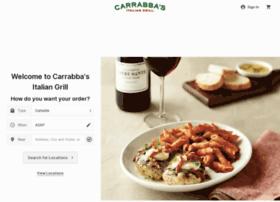carrabbasonlineordering.com
