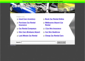 carrentalhire.com.au