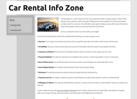 carrentalinfozone.webgarden.com