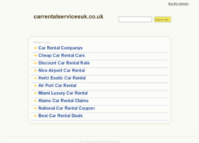 carrentalservicesuk.co.uk