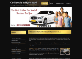 carrentalsinhyderabad.com