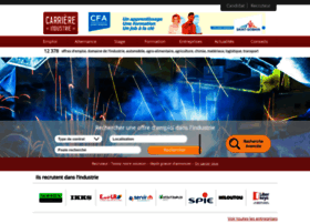carriere-industrie.com