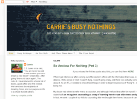 carriesbusynothings.blogspot.com