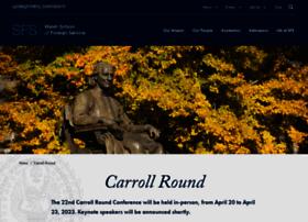 carrollround.georgetown.edu