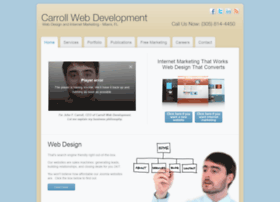 carrollwebdevelopment.com