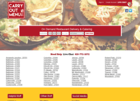 carryoutmenu.com