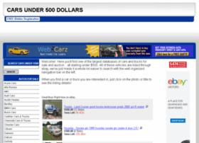 cars-under-500-dollars.com
