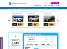 carsandfinancedirect.com.au