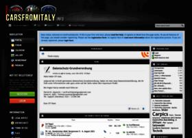 carsfromitaly.info