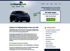 Carshippingquote.com