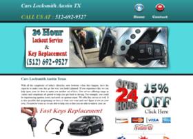 carslocksmithaustin.com