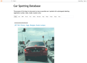 carspottingdatabase.blogspot.com