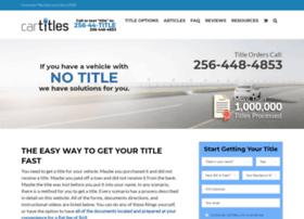 cartitles.com