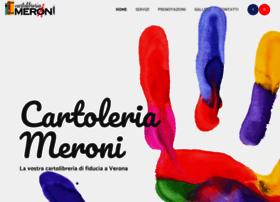 cartoleriameroni.com