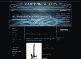 cartoon-guitars.com