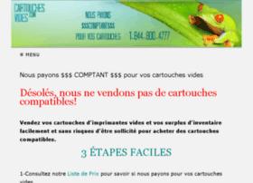 cartouchesvides.com