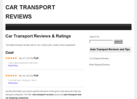 cartransportreviews.org