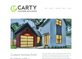 cartycustombuilders.com