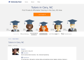 cary.universitytutor.com