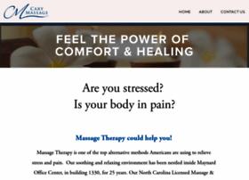 carymassagetherapy.com