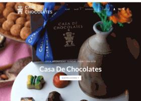 casadechocolates.com