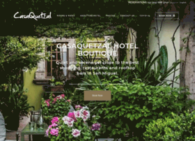 casaquetzalhotel.com