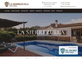 casarurallasierrezuela.com
