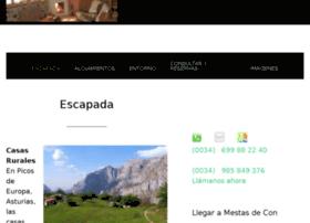 casasruralesaldeadecon.com
