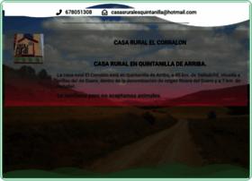 casasruralesquintanilla.com